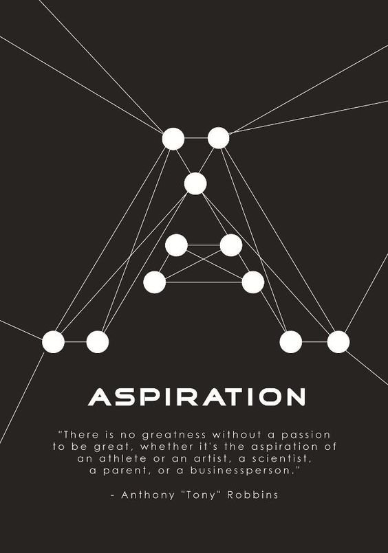 Quote of today!  There is no greatness without a passion to be great, whether it is the aspiration... pinned with Pinvolve