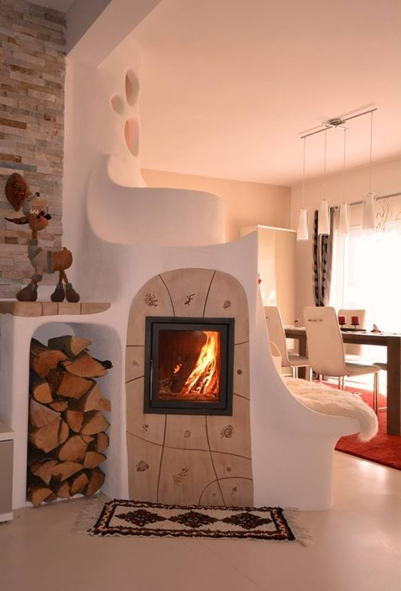Charming Fireplace Home Decor