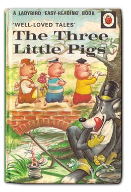 The Three Little Pigs published by Ladybird Books. Narrated for Me Books by Adam Buxton...feb16