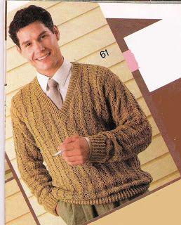 Artesanato diversão e prazer: Blusa masculina em croche