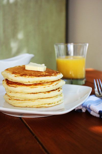 """Another """"Perfect Pancakes"""" recipe - I see a pancake contest in the near future!"""