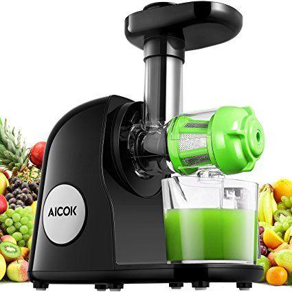 Juicer Machine, Aicok Slow Masticating