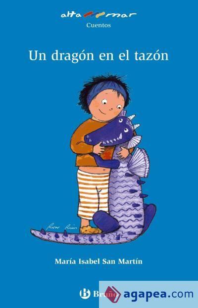 Un dragón en el tazón. Primeros lectores. 26 ejemplares. Bruño. Una historia de fantasía, en la que una niña descubre que en el tazón de cereales de su desayuno habita un personaje encantado con la forma de un dragón.