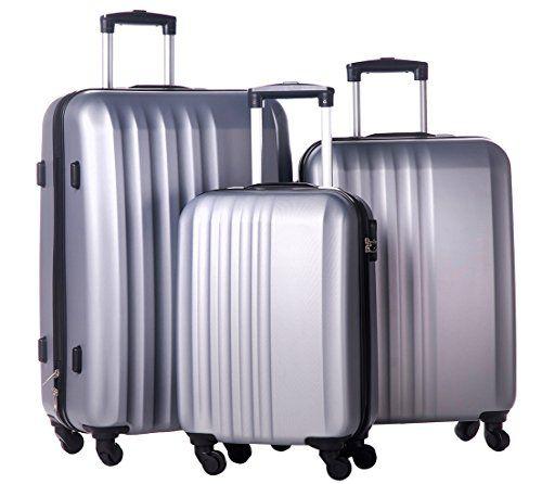 Merax MT Imagine Luggage 3 Piece Spinner Set Gray