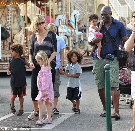 Heidi and Singer Seal have 4 children together; Helene ...