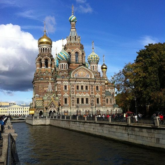 The Church of Spilled Blood, St. Petersburg, Russia
