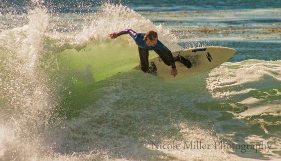 Surfer  By: Nicole Miller Photography