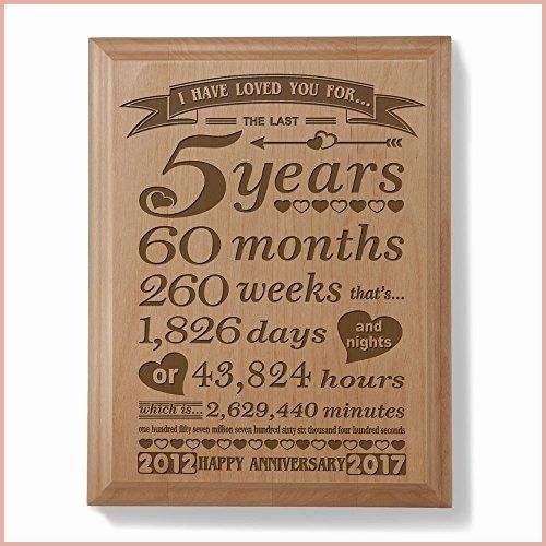 9 Perfect 5 Year Wedding Anniversary Gifts For Her Sorpresas Aniversario Aniversario De Casados Aniversario