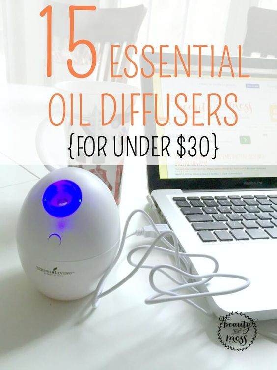 Aromatic Oil Diffusers ~ Essential oil diffusers for under aroma therapy