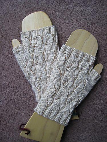 Fingerless Gloves Knitting Pattern Dk : Emilee Dee Mitts pattern by Paula McKeever - Free pattern ...