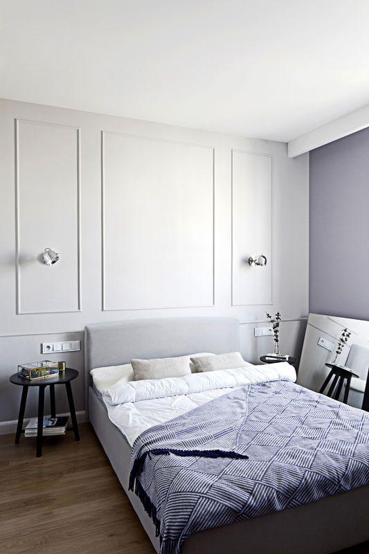 Sztukaterie W Sypialni Sypialnia Styl Klasyczny Aranzacja I Wystroj Wnetrz Bedroom Interior Home Home Decor