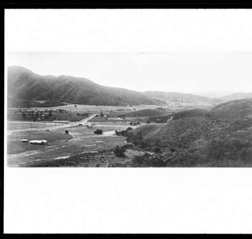 Aerial View Looking South Down Verdugo Canyon At Montrose Including Ritter S House Ca 1914 California Historical Society Colle Aerial View Montrose Aerial