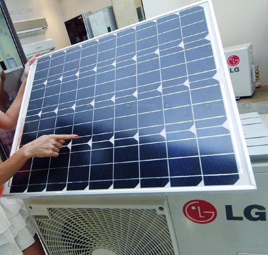 Lg Electronics Solar Hybrid Air Conditioner Solar Panels Best Solar Panels Photovoltaic Panels
