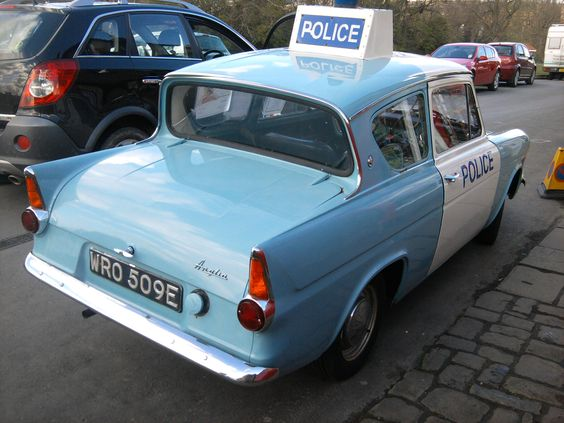 Ford Anglia Used In Heartbeat Ford Anglia Police Cars Police