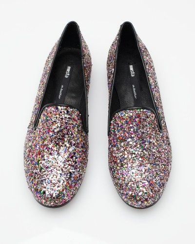 the glitter slipper