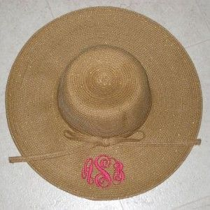 Natural Shimmer Beach hat- so need this for summer