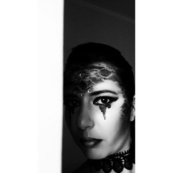 Resultado de uma tentativa de video.. #makeupartist #darkbeauty #lovemakeup