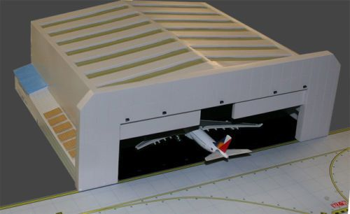 Airplane Hangar For Widebody Aircraft 1 400 Scale Diecast Model By Gemini Jets Gjwbhgr2 Aircraft Hangar Model Airplanes