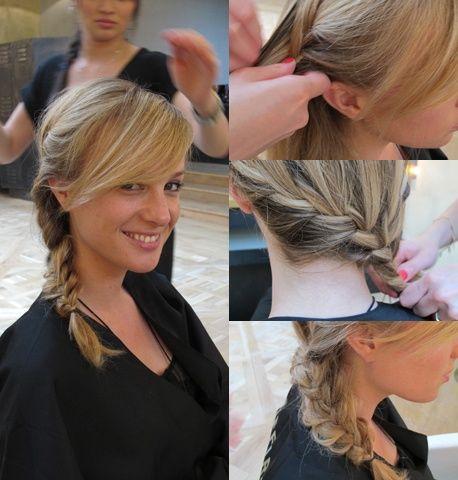 Une coiffure boh me pour rentrer de la plage jude la v i for Salon de coiffure mantes la jolie