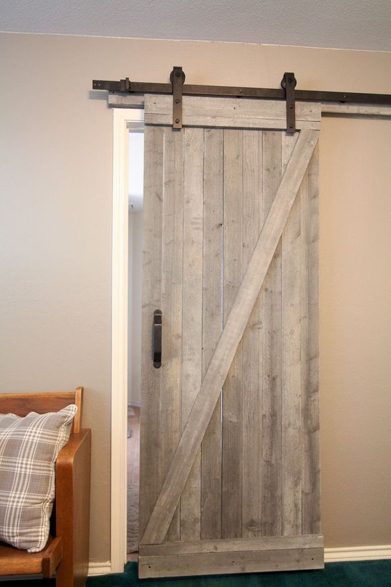 Merveilleux This Easy To Make Rustic Barn Door Is Beautiful And Easy To Make! I Love  This For A Touch Of Farmhouse Style That Can Work With Almost Any Home. **u2026