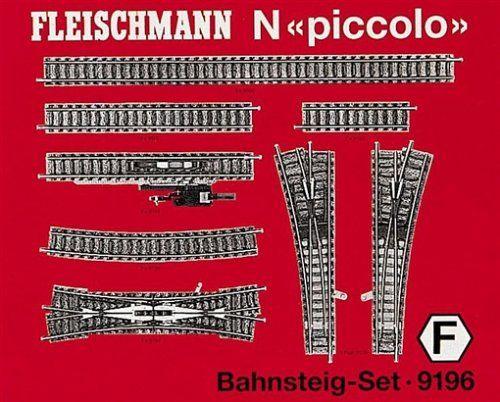 Fleischmann Piccolo 9196 Bahnsteig Gleisset N Piccolo Strom System Modellbahn Dc Gleichstrom Toy Toys And Games Bahnsteig Fleischmann N Gleise
