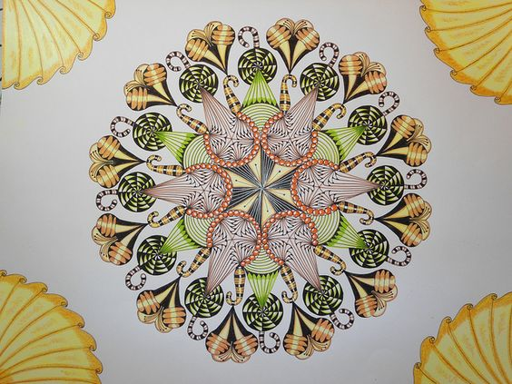 ice-cream mandala by country15, via Flickr