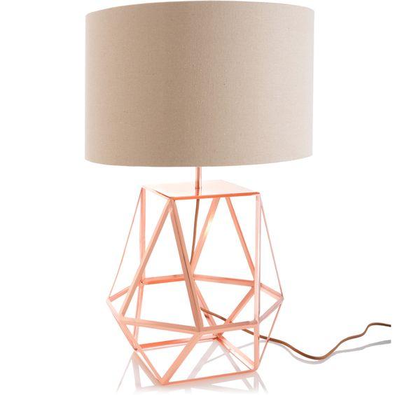 Shiraleah 'Rex' Copper Table Lamp