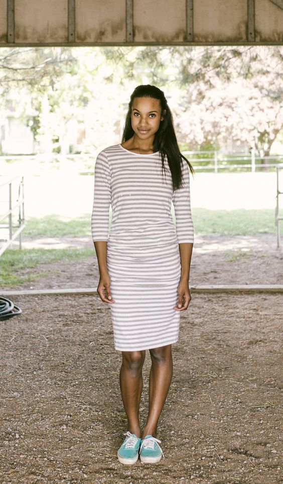 The Everyday Dress |||  Perfect for maternity, post baby, or EVERYDAY - because it's awesome!