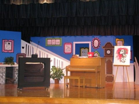 Set Ideas Anita Rodgers Living Room Music Theatre International