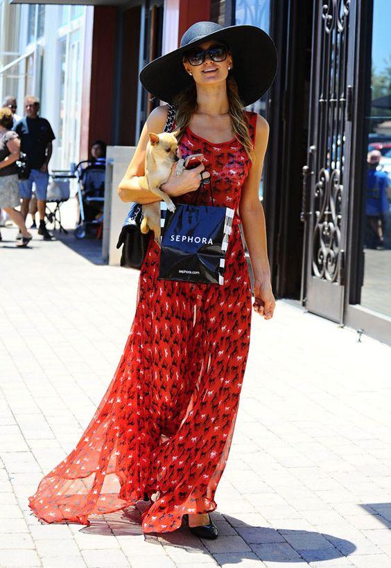 Maxi vestido de día