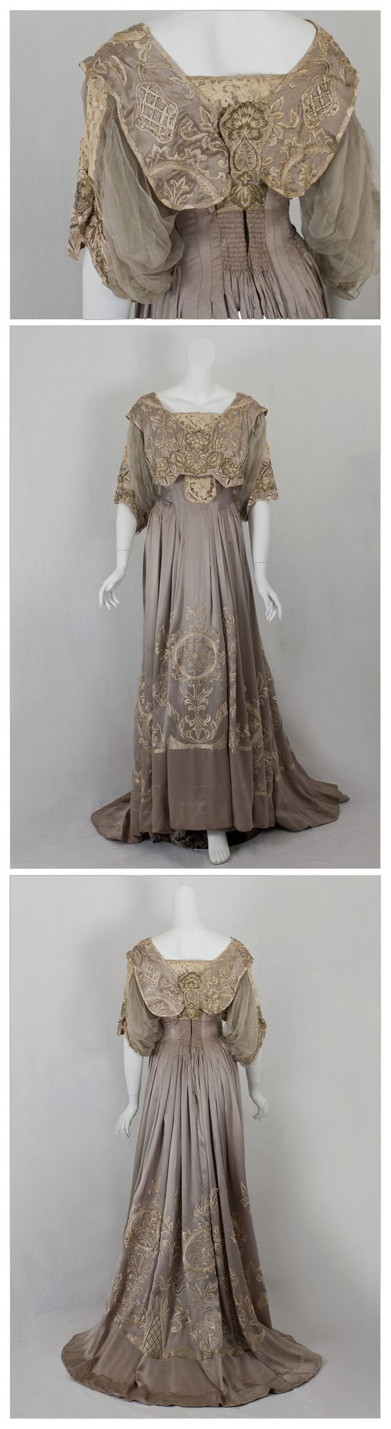 Callot Soeurs dinner dress, c.1905