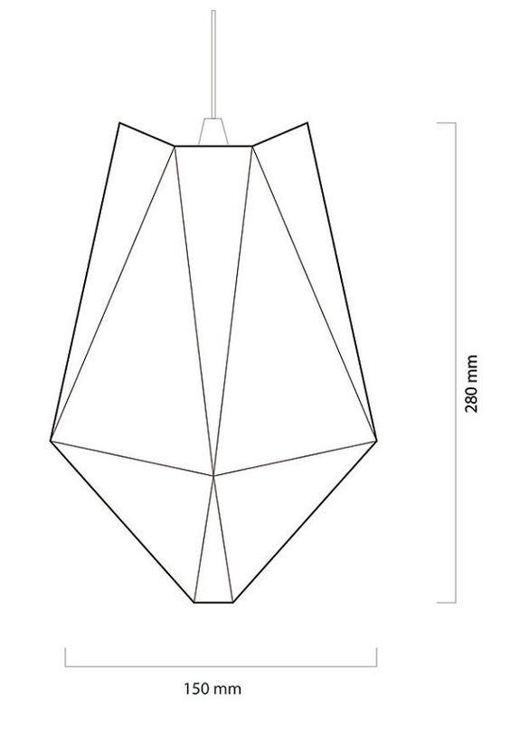 A4 Paper Origami Lamp