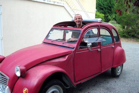 Pour ce dimanche, une #Citroën #2CV !