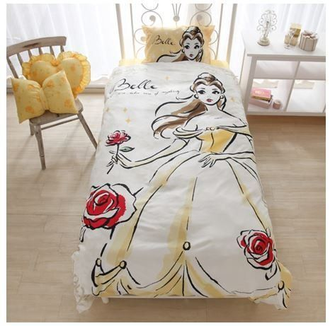 Adorable Disney Princess Bed Sets Featuring Ariel Cinderella Belle And Rapunzel Princess Bedding Set Disney Princess Bedding Disney Princess Bedroom