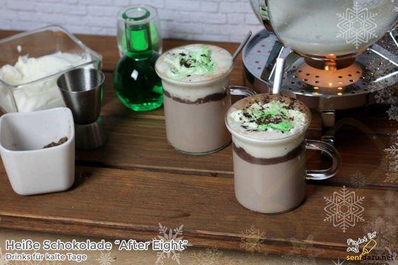"Heiße Schokolade ""After Eight"" Rezept – Hot Chocolate trifft Pfefferminz"