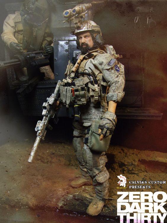 calvins custom one sixth zero dark thirty operator 3 1