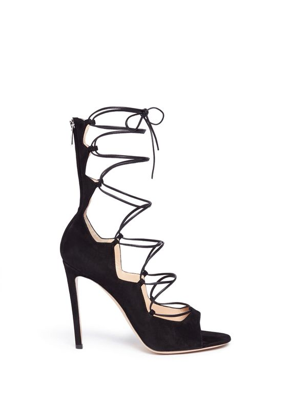 Coveting: Lace Up Heels - find this style & more on The Macadames.xx #style #heels #pumps #styleblogger
