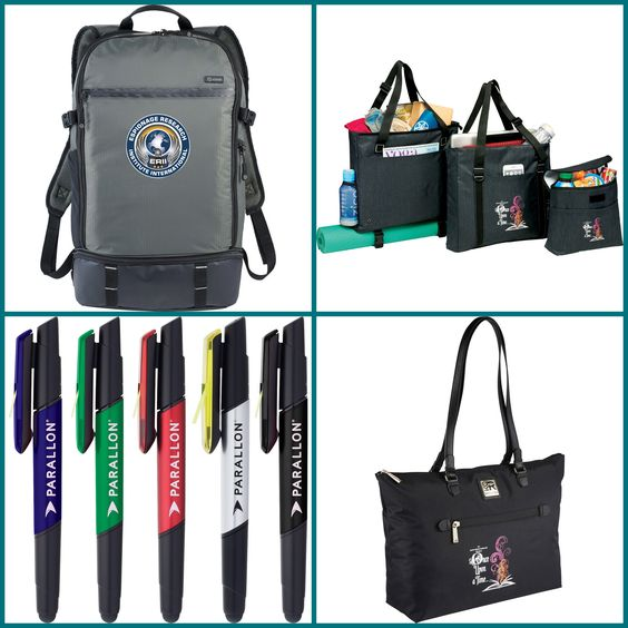 New Customized Computer Backpack, Tote and Pen from HotRef.com
