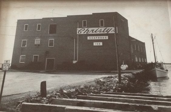 My grandfather's seafood plant in Crisfield, MD. 1950's