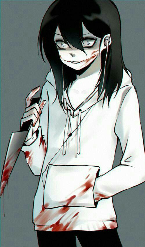 Jeff The Killer Anime Cute : killer, anime, CreepyPasta