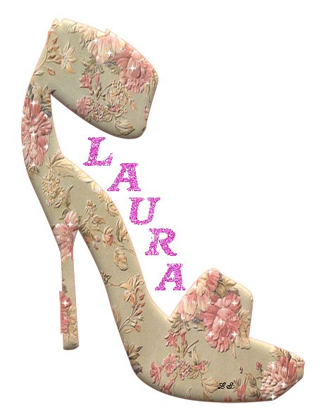 Laura the name | Uploaded by pupasicula in category Glitter Text