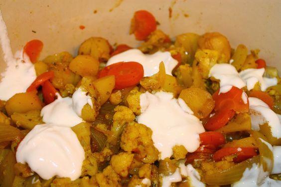 Curry au choux fleur