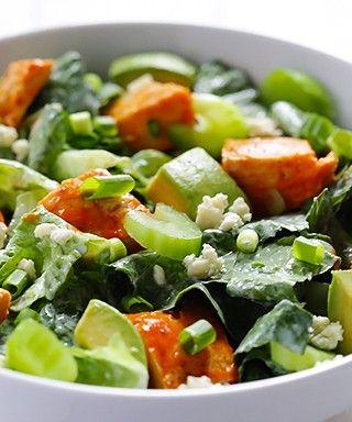 Buffalo Chicken Salad Recipe   gimmesomeoven.com