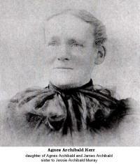 Agness Archibald (1829-1882)