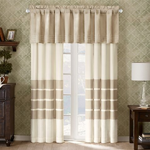 Don't need the valance, but I like the curtains