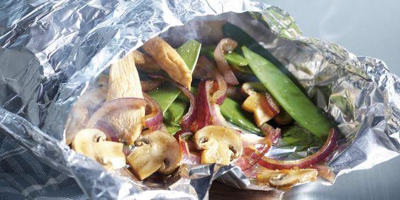 Boodschappen - 'Quickie bag' van kip met gestoomde groenten