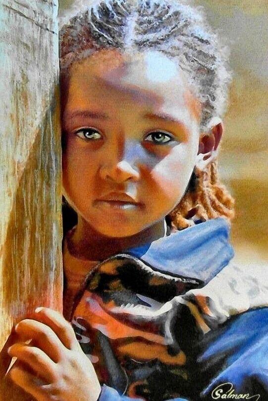 Nahidh Karim Salman Sanatsal Resimler Yagliboya Sanat Portre