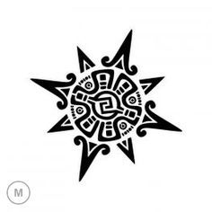 Pochoir Soleil Inca                                                       …