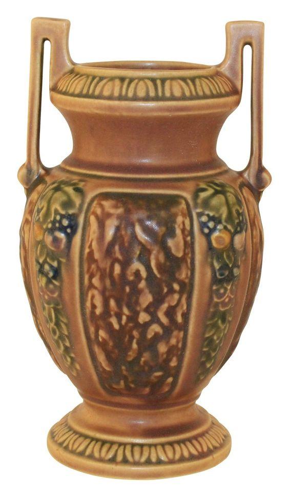 Roseville Pottery Florentine I Vase 255-8: