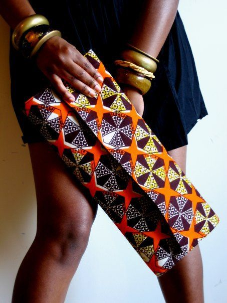 ♥African Fashion ■ Cool Clutch: